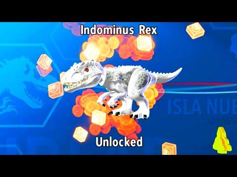 LEGO Jurassic World How to Unlock Indominus Rex, Amber Brick ...