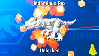 LEGO Jurassic World How to Unlock Indominus Rex, Amber Brick Location