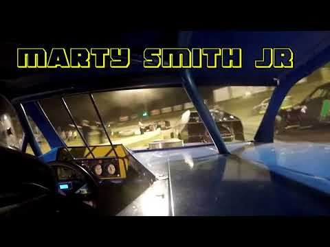 In Car Cam of Marty Smith Jr  At Belle-Clair Speedway 7-6-18