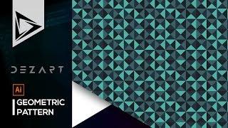 Geometric Pattern - Adobe Illustrator Tutorial