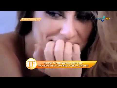 Cleo Pires E Rômulo Discutem Em Festival De Rock - TV Fama 07/04/2014