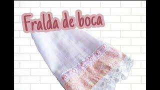 FRALDA DE BOCA – KIT HIGIENE – PASSO A PASSO