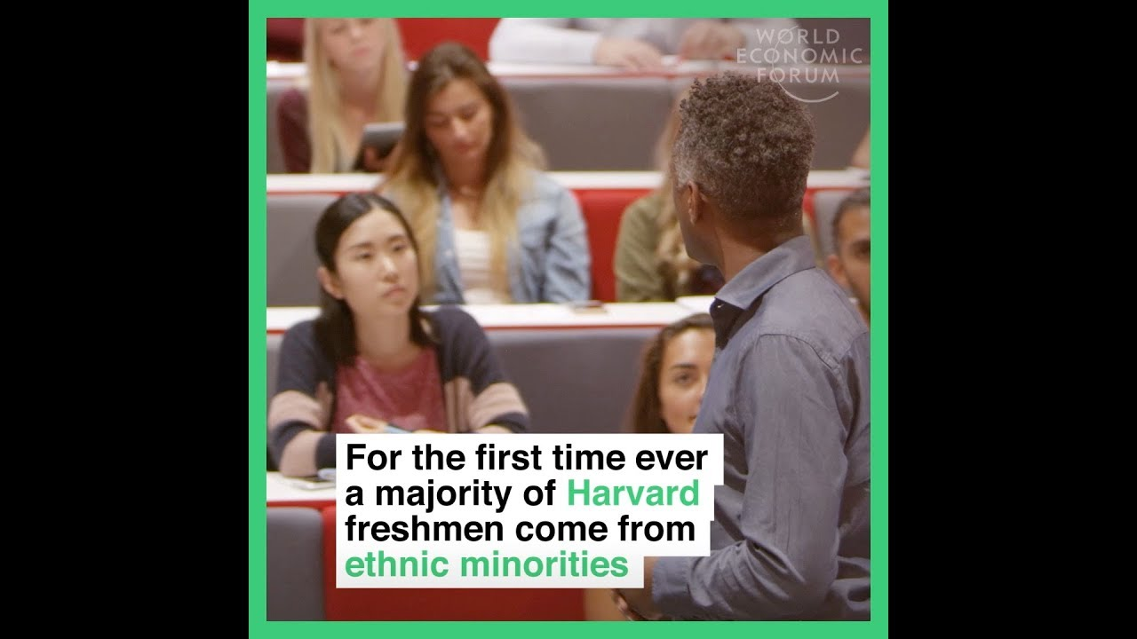 For the first time ever a majority of Harvard freshmen come from ethnic minorities