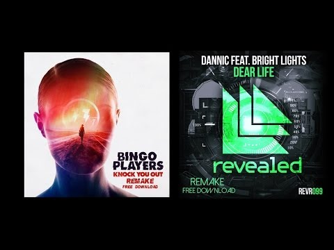 Bingo Players - Knock You Out / Dannic feat. Bright Lights - Dear Life ( Free FLP )