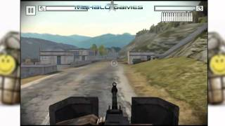 Battlefield Bad Company 2 iPad iPhone Walkthrough 11 - Bridge Assault