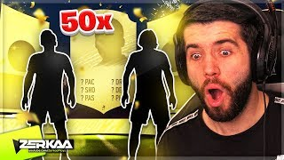 I Opened 50 x RARE 2 Player Packs! (FIFA 20 Pack Opening)