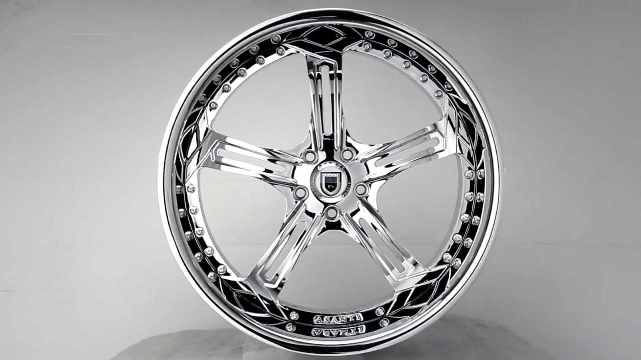 Asanti AF-178 Wheels - YouTube