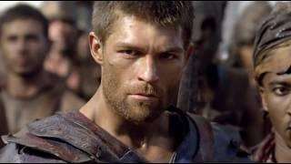 Сериал Спартак  - речь перед финальной битвой