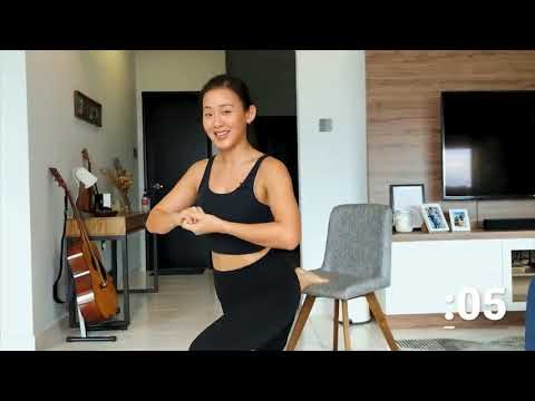 HER® Global Innovation Festival Lifestyle Show - Shape-up with At-Your-Desk Workouts