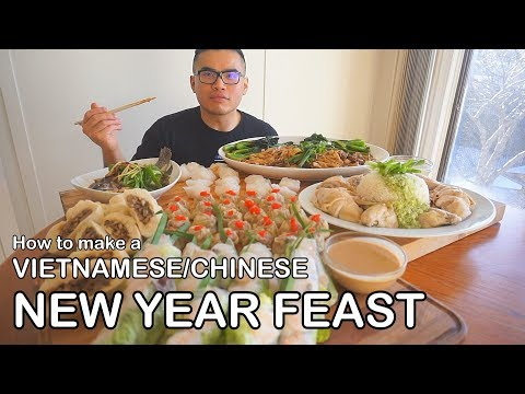 How to make a VIETNAMESE/CHINESE NEW YEAR FEAST