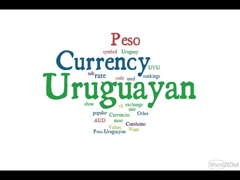 Uruguayan Currency - Peso