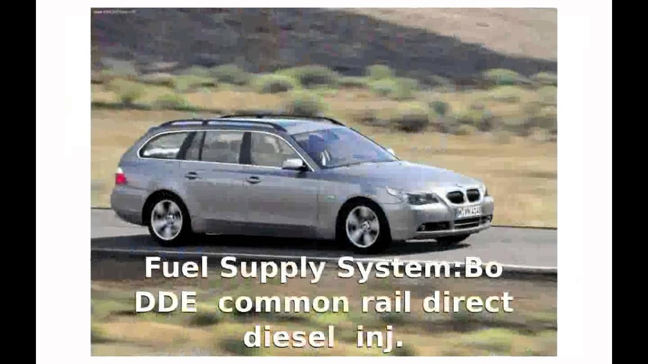 2004 BMW 530d Touring E61 Specs & Technical Details - YouTube
