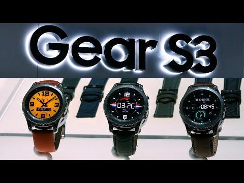 Samsung Gear S3 Smart Watch - CES 2017