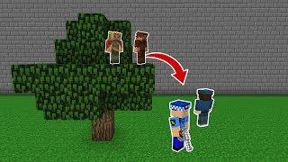 ARDA VE RÜZGAR POLİSLERDEN SAKLANIYOR! 😱 - Minecraft