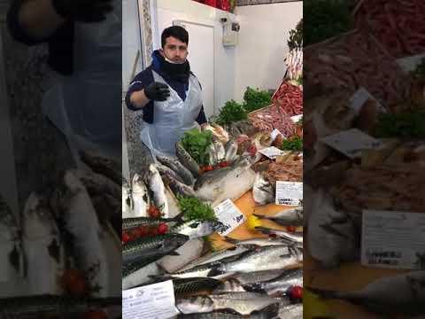 Il re del pesce Le delizie del mare