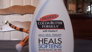 PALMER'S COCOA BUTTER FORMULA VITAMIN E DRY SKIN THERAPY REVIEW
