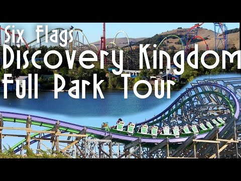 (Steadicam) Six Flags Discovery Kingdom Full Park Tour | Coaster Labs