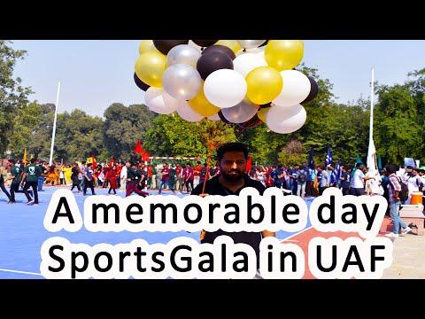 Sports Gala-VSB UAF---Saim Nawaz TV---