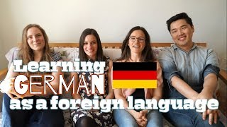Learning German as a Foreign Language