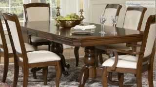 Louis Philippe Pedestal Dining Room Collection From Liberty Furniture