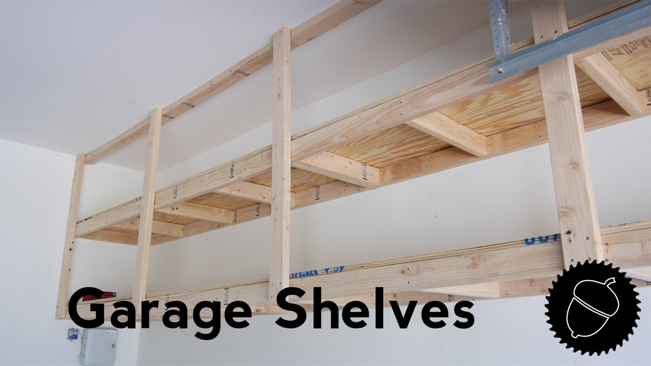 How To Build Garage Shelves The Best Way