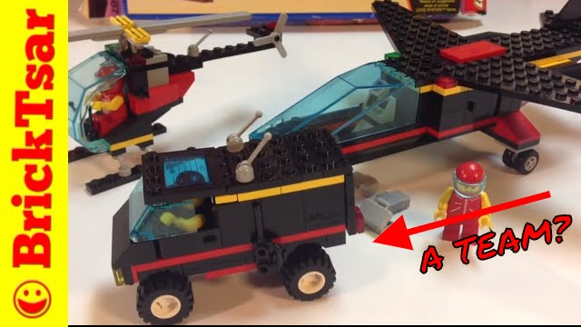 LEGO 1687 Midnight Transport from 1993 Classic Town A Team Van??