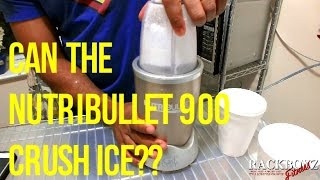 NUTRIBULLET 900 ICE CRUSH TEST & CONSUMER REPORT WARNING