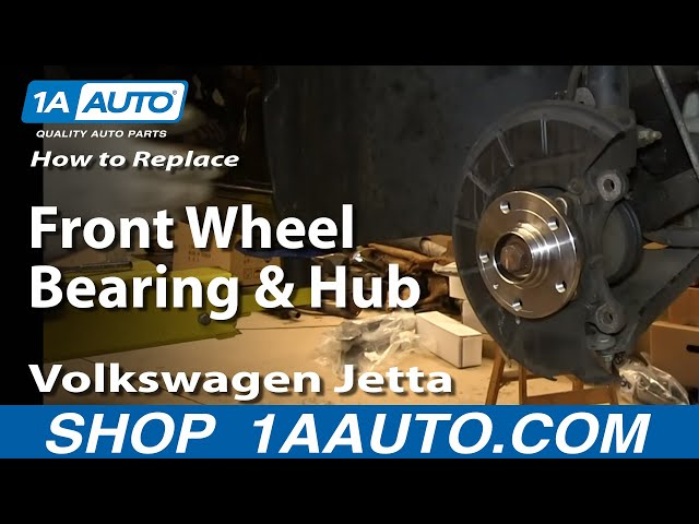 How to Replace Front Wheel Bearing Hub 05-13 Volkswagen Jetta