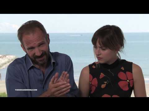 Dakota Johnson and Ralph Fiennes Interview for 'A Bigger Splash'  - 72nd Venice Film Festival