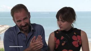 Dakota Johnson and Ralph Fiennes Interview for