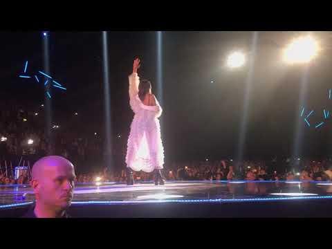 Dua Lipa Performing at BBC Radio 1 Teens Awards