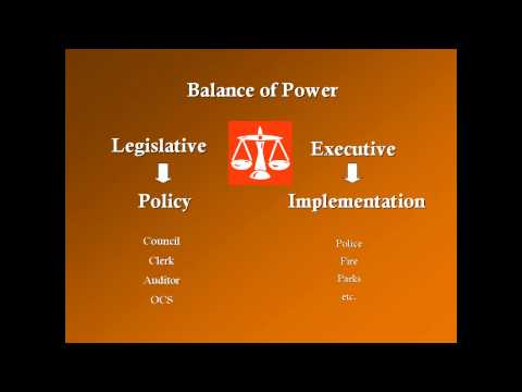 City Government and the Legislative Branch || City and County of Honolulu