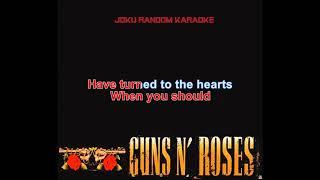 Guns N' Roses - Prostitute  [Karaoke]