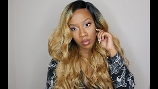 $34.99 Sensationnel Lace Front Wig- Kailyn