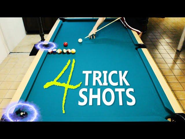4 Pool Trick Shots: Volume 16