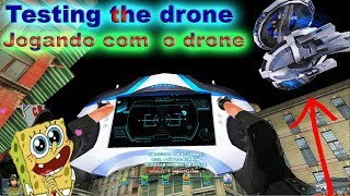 Blood strike  : jogando / testando o drone : explain the drone : bs chinese