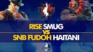 RISE Smug (G) vs SNB FUDOH Haitani (Akuma) - Canada Cup 2019 Pools - CPT 2019