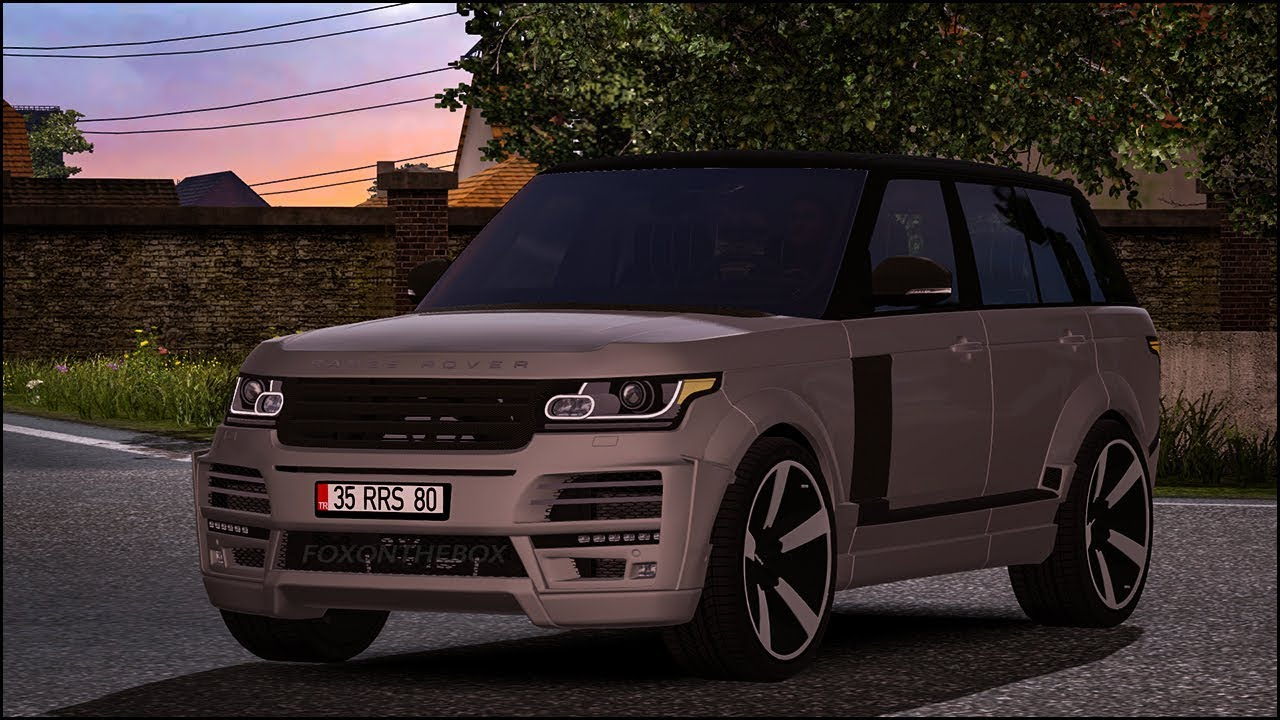 Range Rover Truck >> Range Rover Startech 2018 Euro Truck Simulator 2 Ets2 1 30