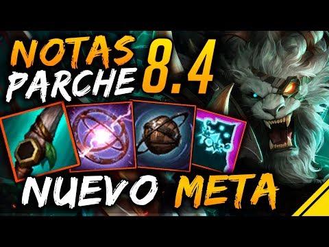 Notas del Parche 8.4 - NUEVO META | Noticias Jota League Of Legends LoL