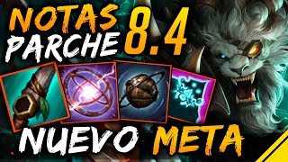 Notas del Parche 8.4 - NUEVO META | Noticias Jota League Of Legends LoL