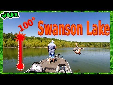 Bass Fishing Tournament On Swanson Lake Nebraska