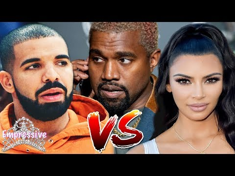 Kanye West and Kim Kardashian slam DRAKE on social media  Kanye exposes Drake