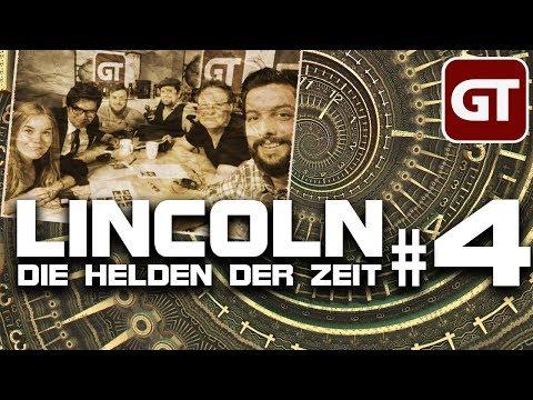 GameTube Pen & Paper: Lincoln: Die Helden der Zeit #4 - Ghandi macht Randale