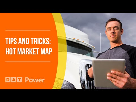 Truckload Supply and Demand with DAT Hot Market Maps
