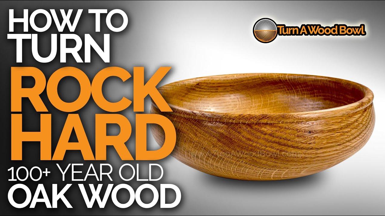 Wood Turned Bowl Video – Old Oak Rock Hard