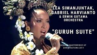 Lea Simanjuntak & Gabriel Harvianto - Guruh Suite (Konser 'Masterpiece of Erwin Gutawa 2011)