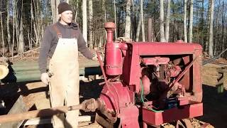 Kenny's old time sawmill