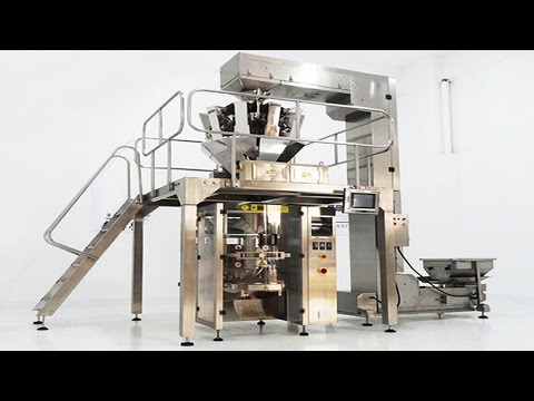 Instruction video of how to install platform multihead packing machine manual operation from A to Z