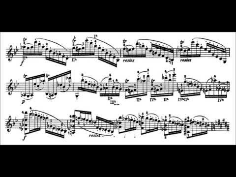 Niccolò Paganini - Caprice for Solo Violin, Op. 1 No. 10 (Sheet Music)