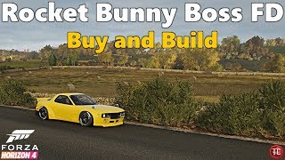 Forza Horizon 4: Buy and Build   Mazda RX7 FD Rocket Bunny Boss!